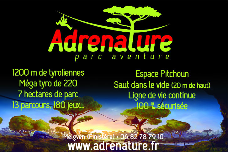 Affiche Pub adrenature 2018